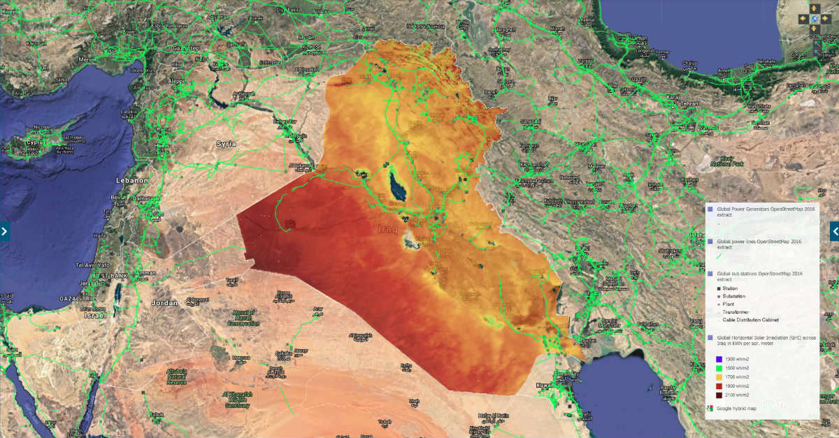 Solar For America >> IRENA to Integrate Iraq's New Solar Map into Global Atlas