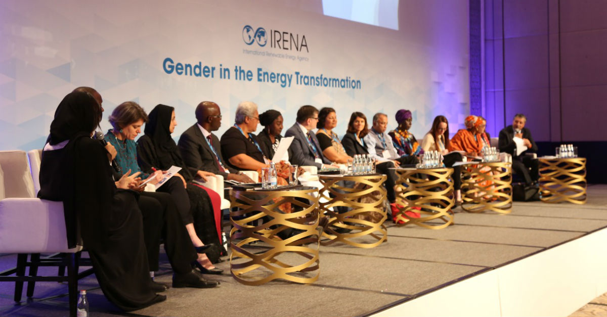 Gender event panellists