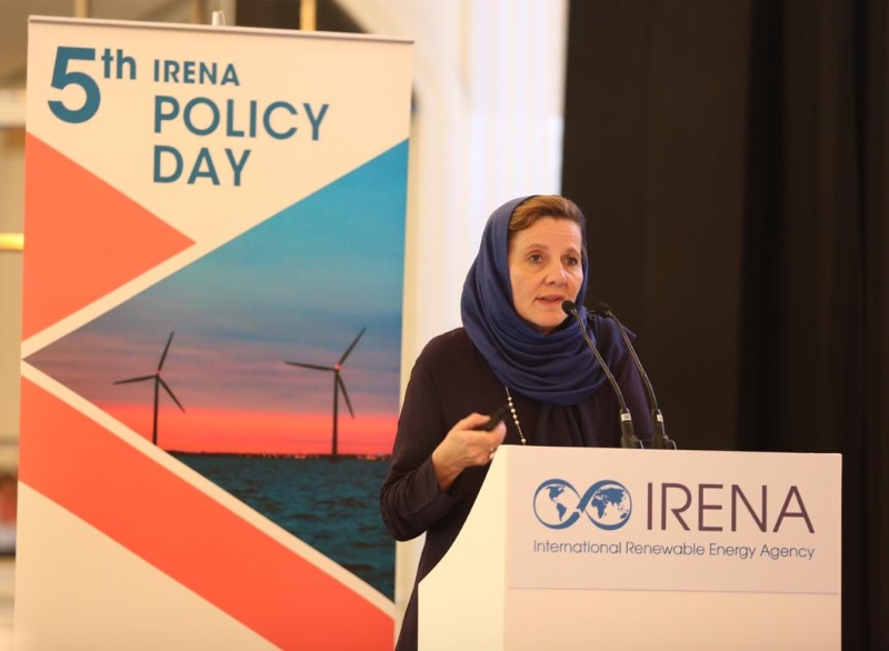 Rabia Ferroukhi at IRENA Policy Day