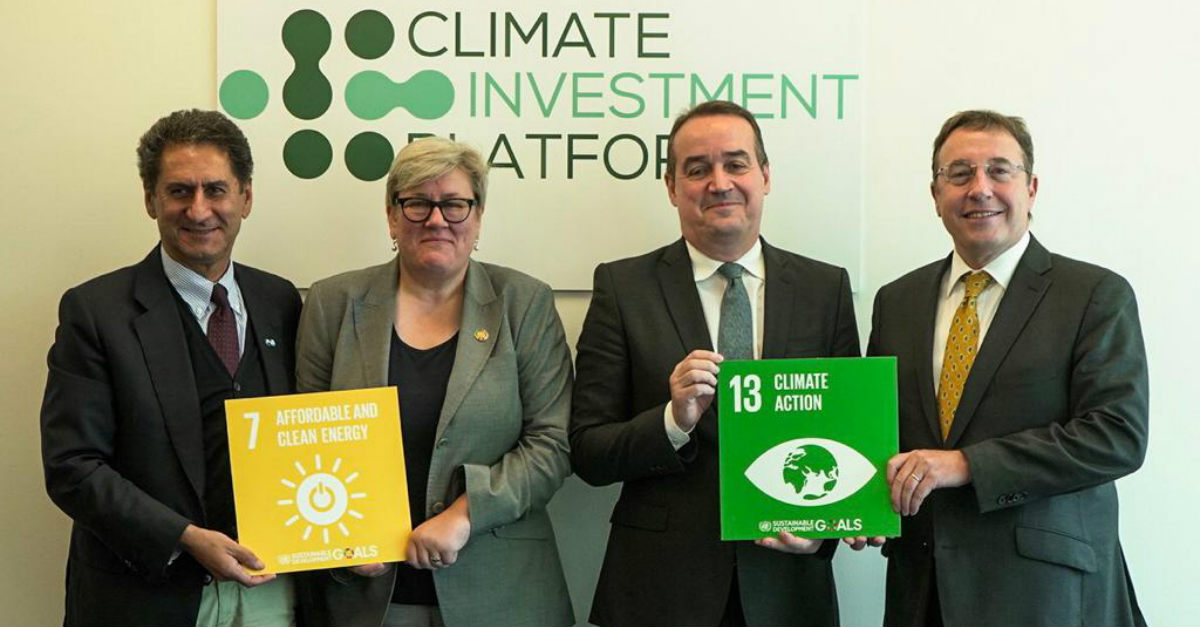 Climate Investment Platform launch