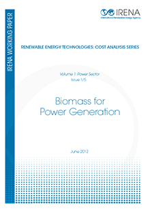 Renewable Energy Cost Analysis - Biomass for Power Generation