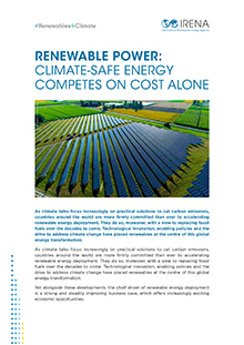 Renewable Power Climate Safe Energy Competes On Cost Alone
