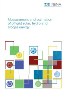 Measurement and estimation of off-grid solar, hydro and