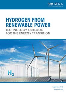 Hydrogen from renewable power: Technology outlook for the
