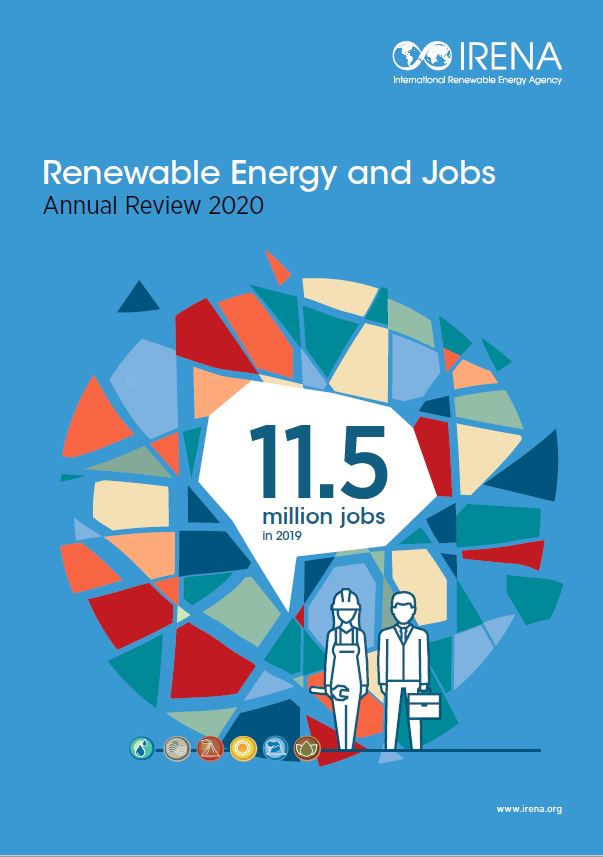 Renewable Energy And Jobs Annual Review 2020