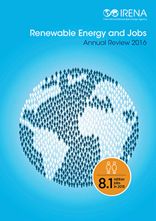renewable energy and jobs annual review 2016