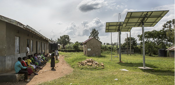 Hospital powered by renewables Africa