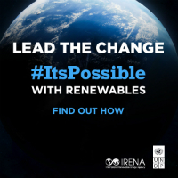 It's possible with renewables